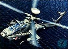 Вертолетов апач и черная акула